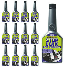 12 x ENGINE STOP LEAK OIL ADDITIVE 350ml REDUCES CONSUMPTION CONDITIONS SEALS