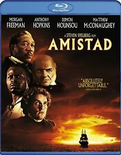 AMISTAD (1997 Morgan Freeman, Anthony Hopkins)  -  Blu Ray - Sealed Region free