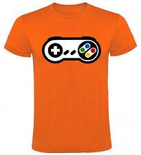 Camiseta Mando Snes Super Nintendo Games Hombre varias tallas y colores a044