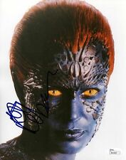 "Rebecca Romijn as Mystique X Men REAL hand SIGNED 8x10"" Photo #1 JSA COA X-Men"