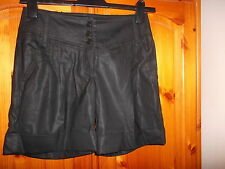 Stunning black going out smart shorts, OASIS, size 8, NEW