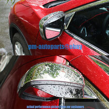 PM Mirror Glass Rain Snow Shield Guard Sun Trim Visor New for Kia Soul 2010-2013