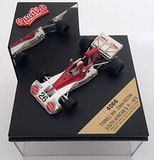 Quartzo Formel1 1:43 Tyrrell 004 Eddie Keizan Nr26 SOUTH AFRICAN GP 1973 'Tabak'