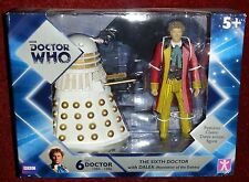 Doctor Who - 6th Sixth Doctor with Dalek NEW