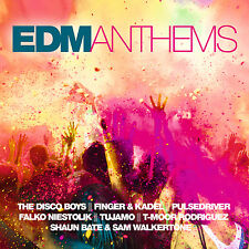 CD EDM Anthems di Various Artists 2cds