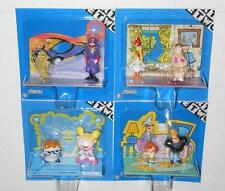 Cartoon Network Set Figurines Dexter Cow Chicken Johnny Bravo