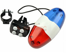 Bicycle bike 4 tones Electronic Warning Color lights beeper Horn Bell