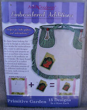 "Anita Goodesign Embroidered Editions - ""Primitive Garden"" 60 Designs ~ **NEW**"