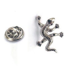 Lizard Ghecko LAPEL PIN BADGE Lover Lounge Club Owner Christmas Present GIFT BOX