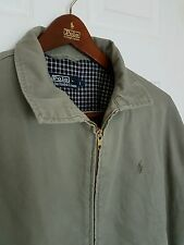 POLO by RALPH LAUREN HARRINGTON GIACCA. SIZE LARGE / XL. IMMACOLATA RRP £ 160