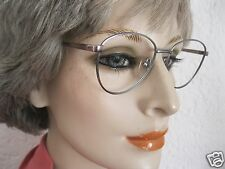 VINTAGE Damen Brille Brillenfassung WK 5080 silber ladenneu Optiker 10M
