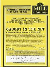 Genuine Hand Signed Autographed Theatre leaflet - Ray Cooney