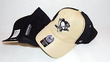 NWT NEW HAT CAP 47'SEVEN PITTSBURGH PENGUINS HOCKEY NHL STRETCH S/M UP TO 7 1/4