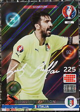 Panini Adrenalyn XL euro 2016 france nº 187 gianluigi buffon-signature mapa