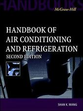 Handbook of Air Conditioning and Refrigeration by S.K. Wang Second Edition NEW!