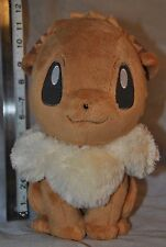 Eevee Pokemon HQ I Love Eevee Sitting Large Stuffed Plush - Great Condition, TTO