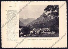 TORINO BOBBIO PELLICE 07 POESIA - MONTE BARIOUND Cartolina viaggiata