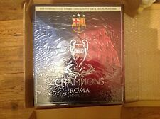 Barcelona UEFA champions league winners commemorative ltd edition boxed shirt