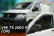 VW T5 T6 2003-2014 Wind Deflectors 2 pcs (31173) sticking