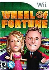 WHEEL OF FORTUNE WII! PAT SAJAK, VANNA WHITE, FUN FAMILY GAME SHOW NIGHT PUZZLE