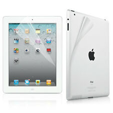 Anti-Glare Front and Back Screen Protector for Apple New iPad 3 3rd Full Set