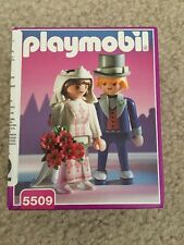 Playmobil Victorian Bride and Groom 5509 New In Sealed Box