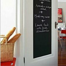Creative Kids Removable PVC Vinyl Blackboard Wall Stickers Chalkboard Decals -LG