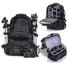 Deluxe Professional Digital DSLR Camera Backpacks Handbag Camcorder Bag For Sony