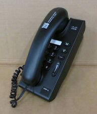 Cisco CP-6901-C-K9 Unified IP VoIP Phone Telephone 6901 Slimline Black