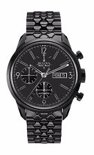 Bulova Accutron Men's 65C115 Accu Swiss Murren Choronograph Black Watch