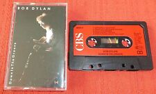 BOB DYLAN - UK CASSETTE TAPE - DOWN IN THE GROOVE - PAPER LABELS
