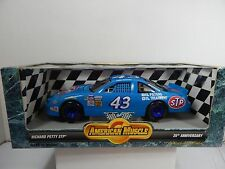 1/18 ERTL AMERICAN MUSCLE NASCAR RACE CAR PRICHARD PETTY STP #43