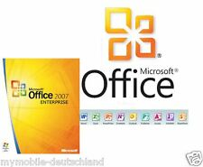 Office 2007 Enterprise 32/64 Bit Microsoft Vollversion ESD Produkt key