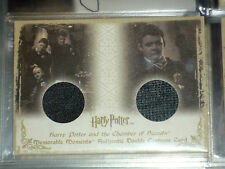 HARRY POTTER MEMORABLE MOMENTS RARE DOUBLE COSTUME CARD DC4 228/460 MM MM1