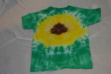 Girls or Boys XL Size 18-20 Sunflower Hand Dyed Tie Dye
