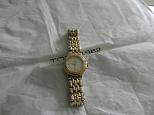 Premier Designs MEXICO gold silver watch rv $78 FREE ship w/bin new battery