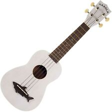 Kala MK-SS/WHT Makala Soprano Shark Ukulele Great White Vintage Satin Finish