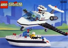 Lego Classic Town Police 6344 Jet Speed Justice NEW Sealed Rescue Boat