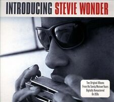 Introducing: Stevie Wonder by Stevie Wonder (CD, Jan-2013, 2 Discs, Not Now...