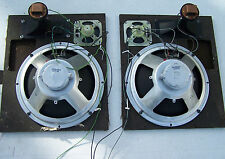 Vintage Silvertone Console Speakers for parts or project.