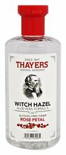 Thayers Rose Petal WITCH HAZEL w/ Aloe Vera Alcohol-Free Toner 12 oz SKIN HEALTH