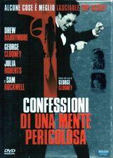 CONFESSIONI DI UNA MENTE PERICOLOSA - DVD (USATO EX RENTAL) SLIPCASE