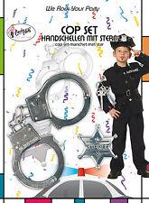 Polizei Set für Kinder 2-teilig NEU - Zubehör Accessoire Karneval Fasching