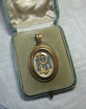 Etruscan Revival Locket Necklace Garrard & Co 14K Gold c1880 Victorian Museum