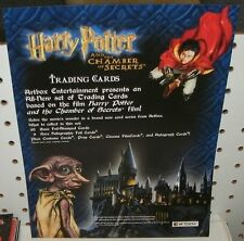HARRY POTTER & THE CHAMBER OF SECRETS TRADING CARDS - SELL SHEET  8 1/2 x11