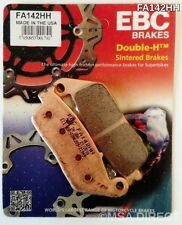 Honda CBR250R Non ABS (2011 to 2013) EBC Sintered FRONT Brake Pads FA142HH 1 Set