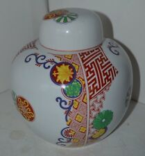 Toscany Collection Safford Japan Covered Ginger Jar China 7.75""