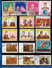 ECUADOR  Portraits:pape Paul VI, rencontre Kennedy et chefs d'Etat  551A247B