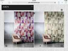 """13 yd ARTE INTL """"Mercury"""" Alchemy Collection Wallpaper Passion Colorway 25044"""