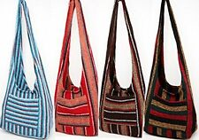 Hippie Bag Cross-Body Baja Sling Bag Tote Classic Baja Jacket Fabric Men Women